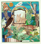 Collages by Fay Wood