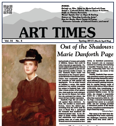 ART TIMES Spring 15 front page