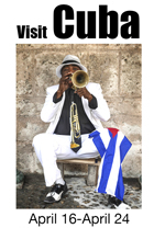 visit cuba with Michael Nelson