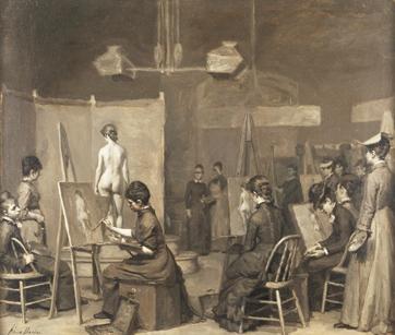 For Women art classes posing