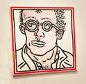 Self Portrait by Keith Haring