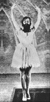 Picabia in the 1924 film Entr'acte, part of the ballet Relâche